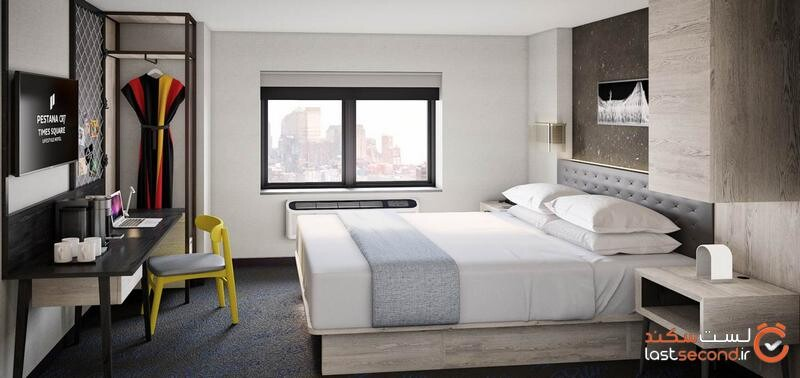 اتاق های هتل رونالدو در نیویورک