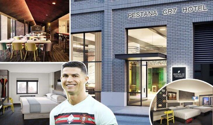 جدیدترین هتل کریستیانو رونالدو در نیویورک آمریکا افتتاح شد