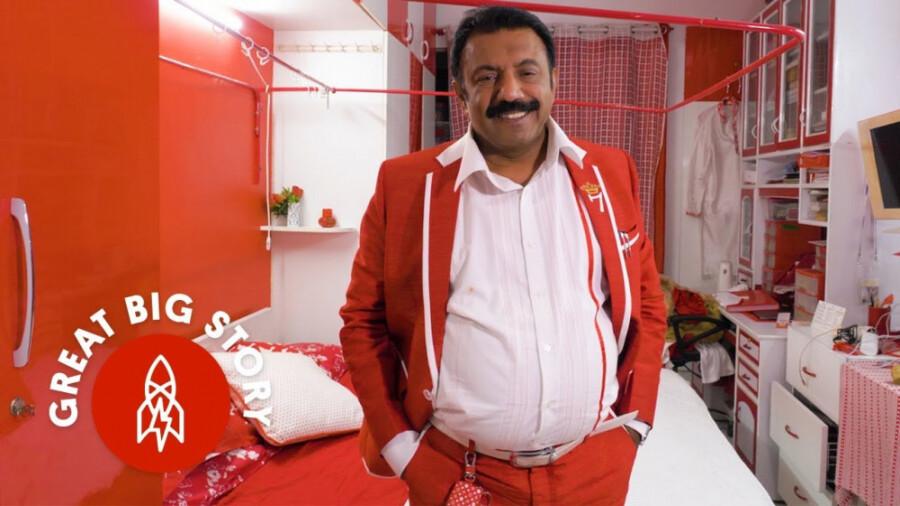 با مرد سفید و قرمز بنگلور آشنا شوید!