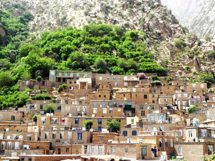 4 روستای پلکانی و کمتر شناخته شده در پاوه کرمانشاه