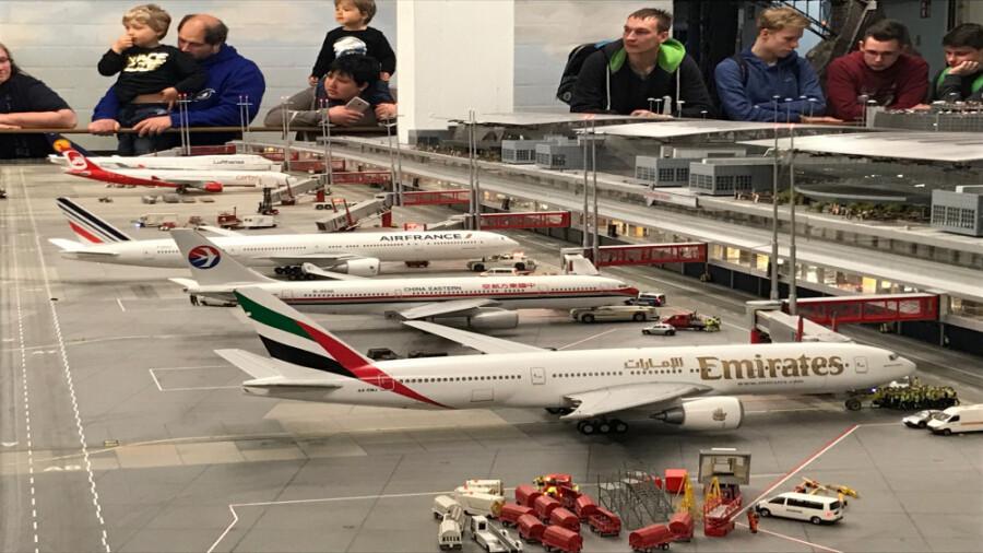 بزرگترین ماکت مینیاتوری فرودگاه جهان در آلمان!