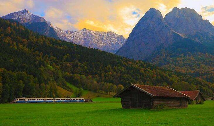 زیباترین مسیرهای ریلی اروپا که با قطار میتوانید تجربه کنید