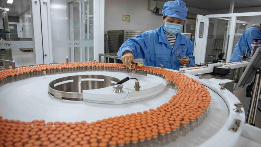 کارخانه تولید واکسن کرونا سینوواک