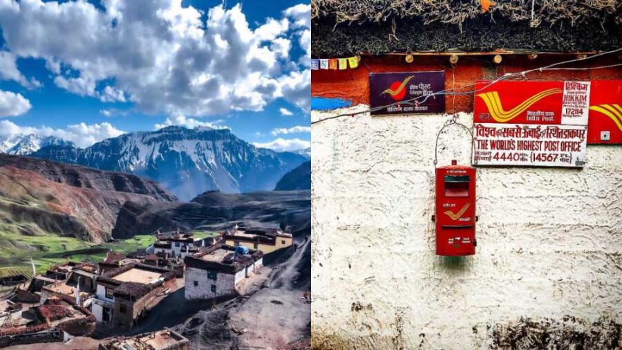 مرتفع ترین اداره پست جهان در میان کوه های هیمالیا!