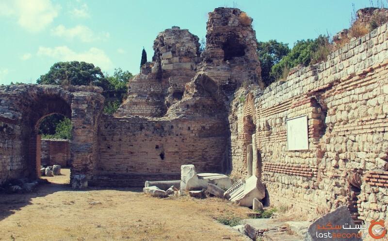 حمامهای رومی وارنا بلغارستان