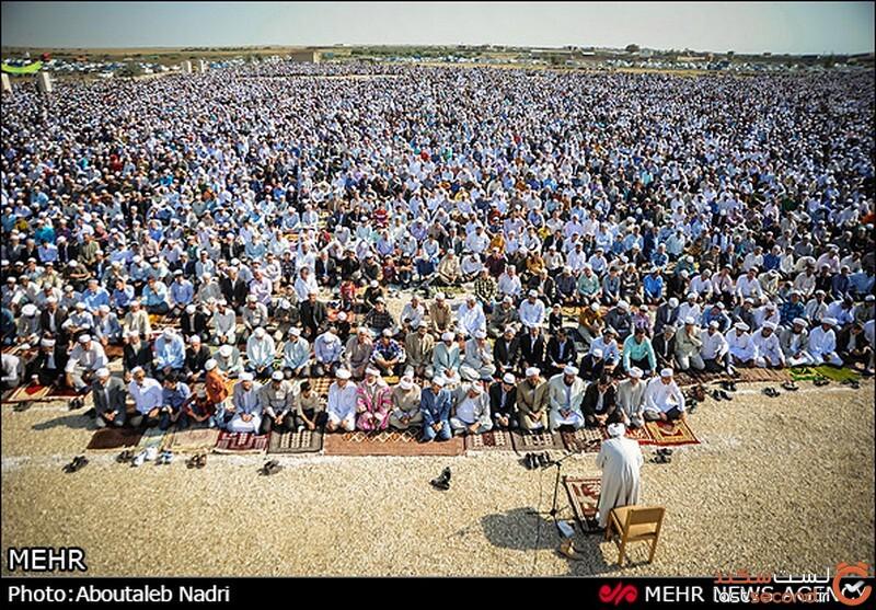 نماز عید ترکمن ها