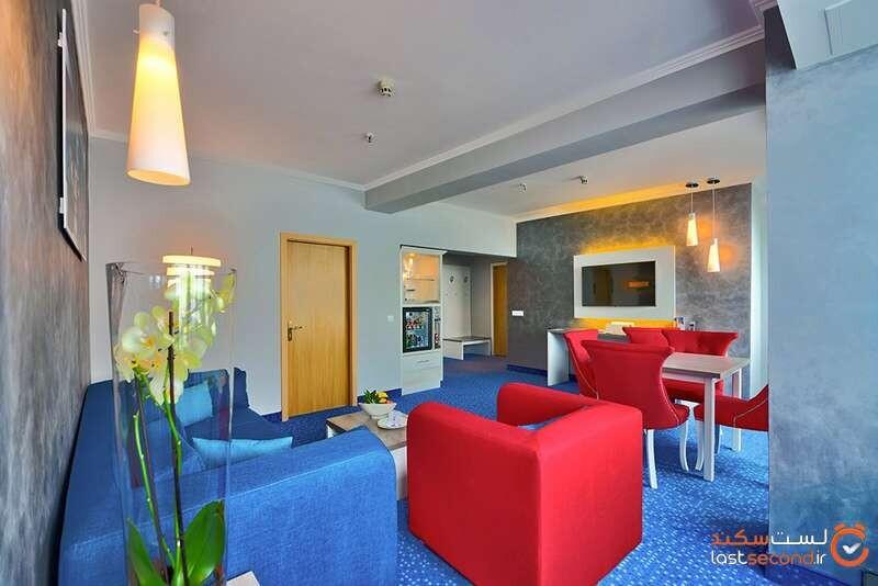 Deluxe Apartment هتل اینترنشنال اند سوئیتس تاور