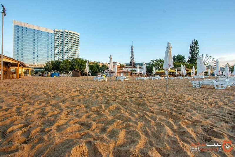 ساحل هتل اینترنشنال سوئیتس بلغارستان