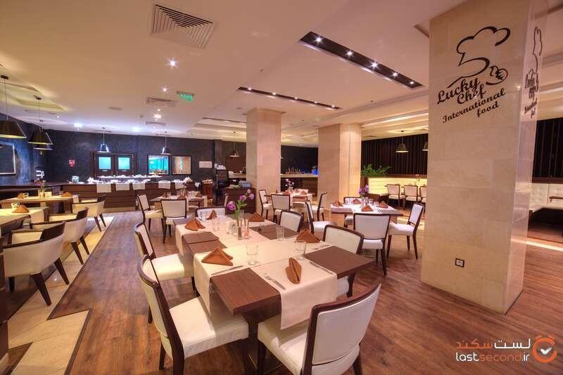 رستوران هتل اینترنشنال اند سوئیتس تاور