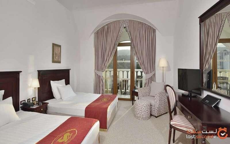 اتاقهای هتل ملیا گرند هرمیتیج