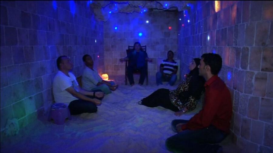 غار نمکی، مکانی برای درمان استرس!