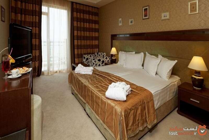 اتاقهای هتل آدمیرال