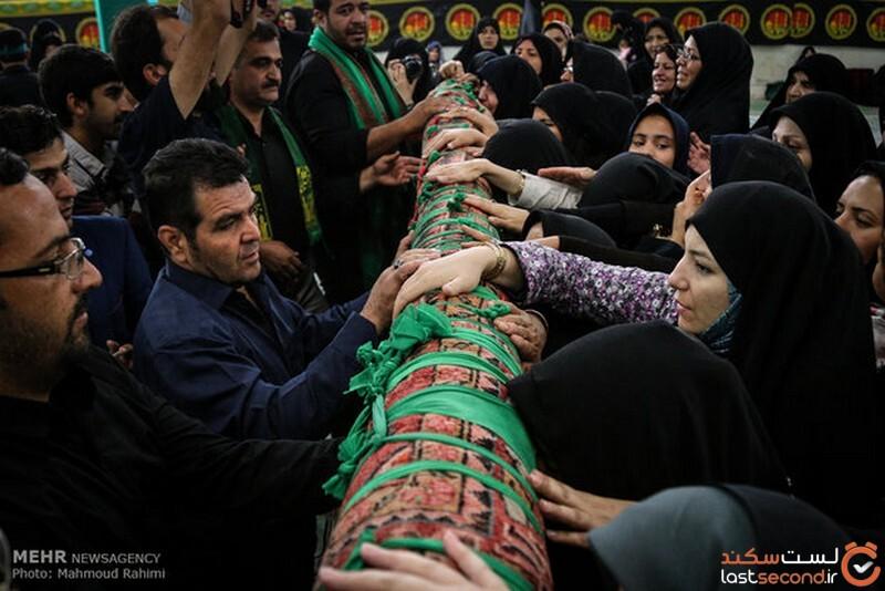 آیین قالیشویان در مشهد