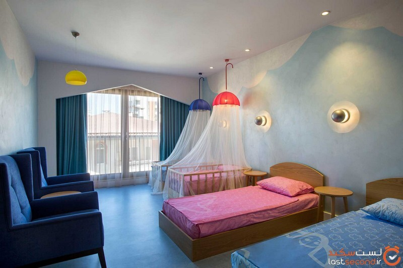 اتاق کودکان هتل آکانتوس اند سنت باروت