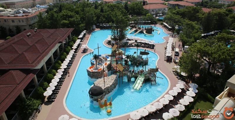 پارک آبی هتل گورال پریمیر