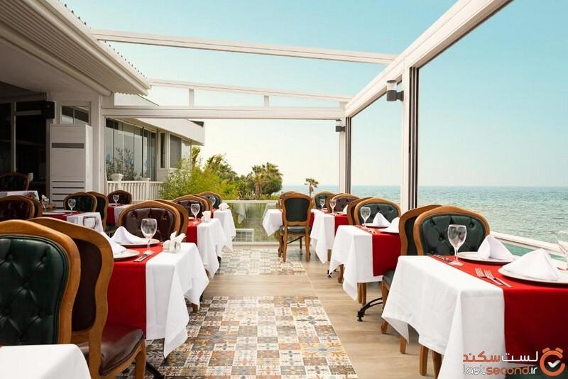 رستوران هتل فلورا گاردن بیچ آتنالیا