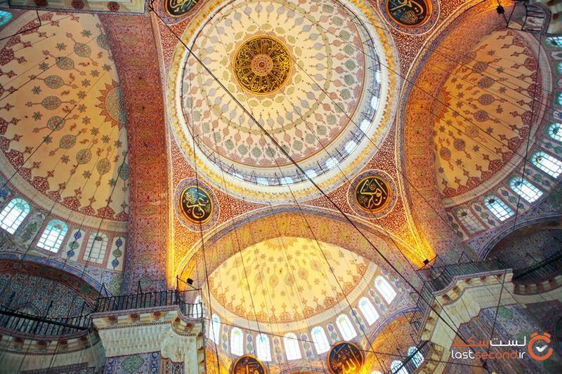 گنبدهای مسجد جدید استانبول