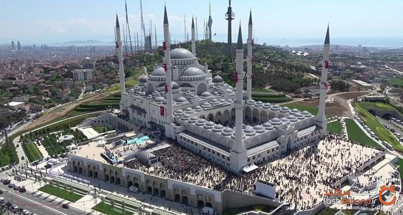 مسجد چاملیجا استانبول
