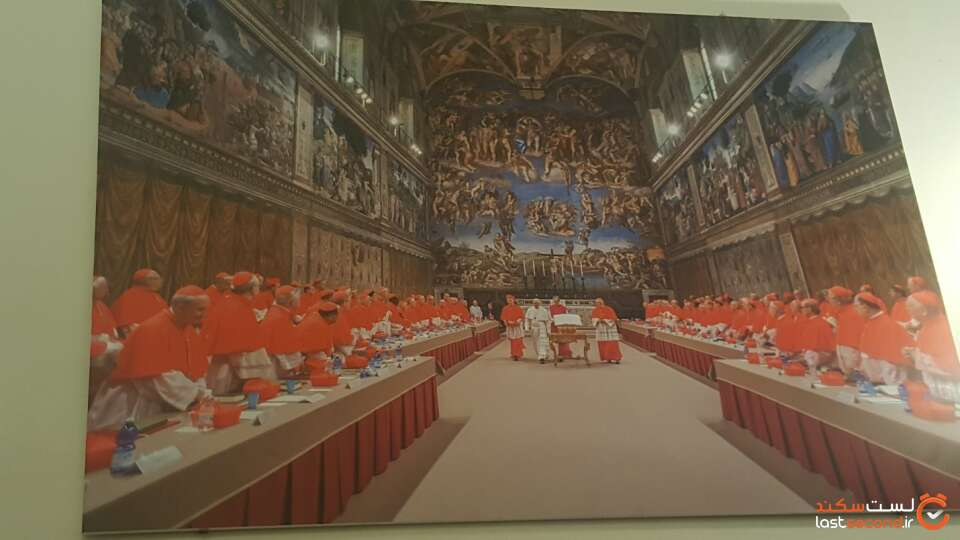 محل ملاقات های پاپ اعظم