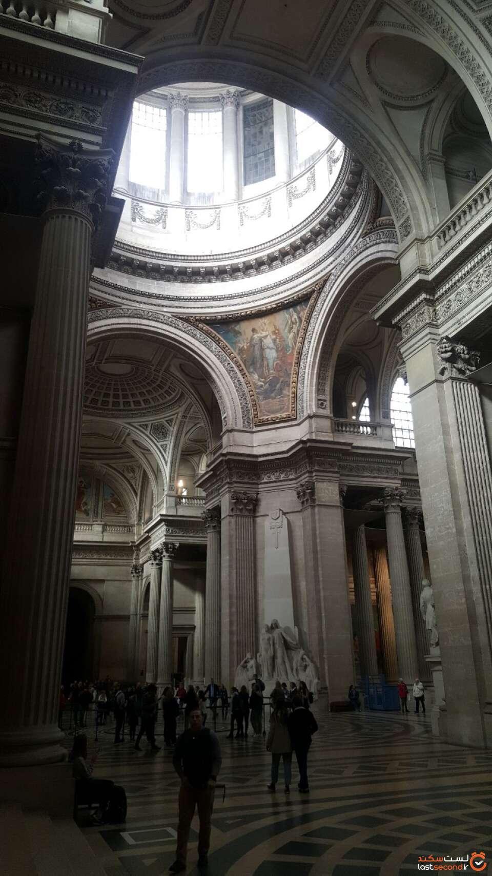 کلیسای پانتئون در پاریس