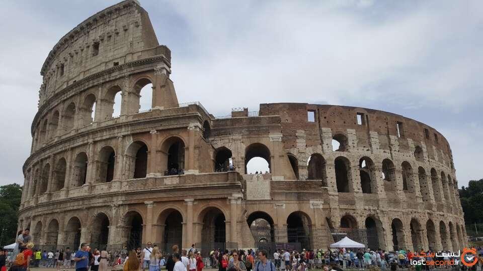 عکس کولسئوم در رم