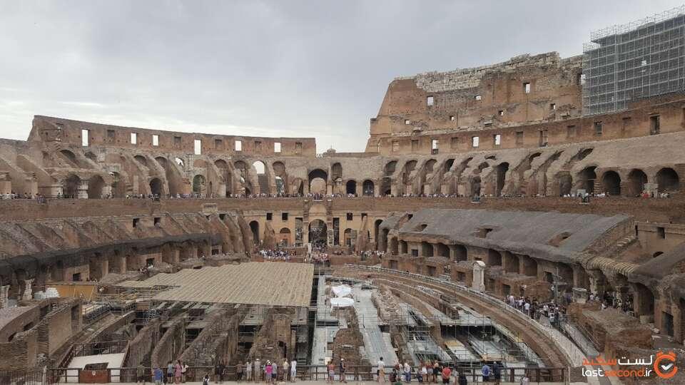 نمای داخلی کلسئوم رم
