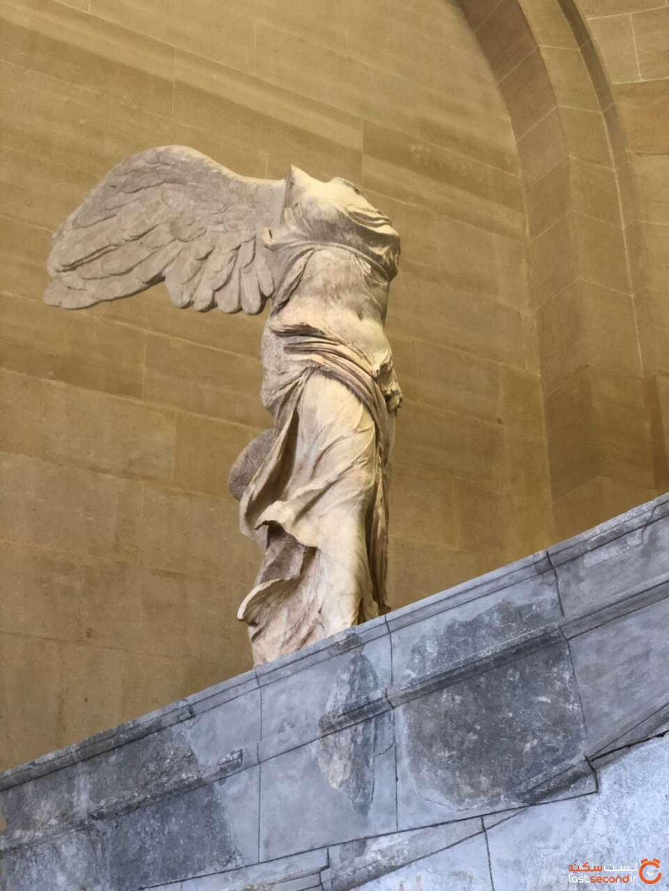 مجسمه نیک خدای پیروزی یونان