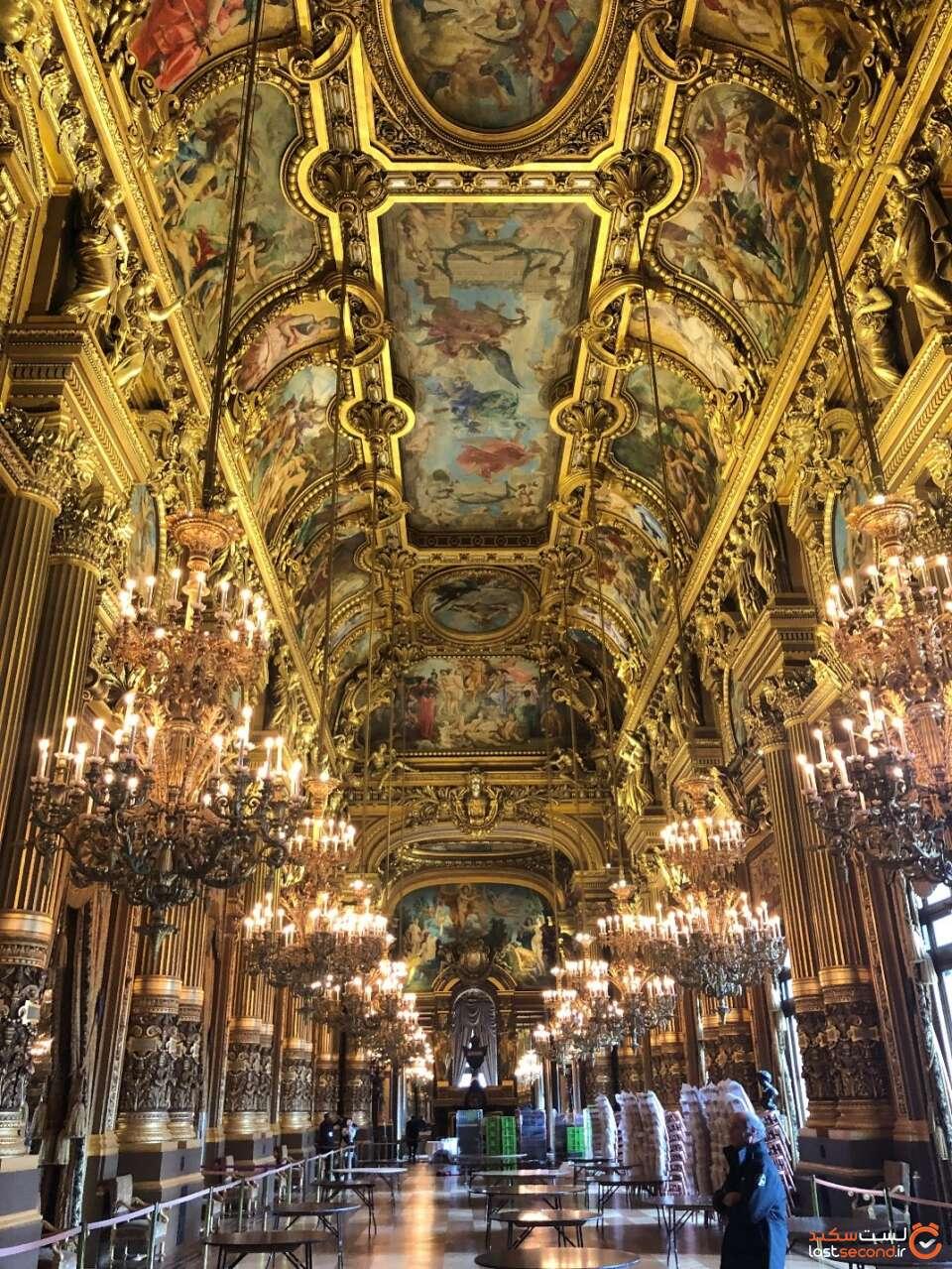 سالن اپرا در پاریس