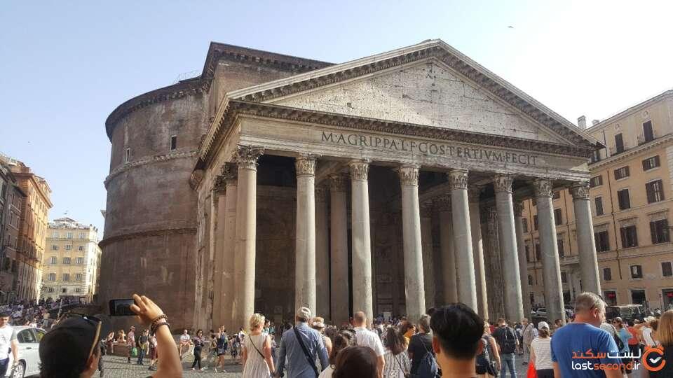 کلیسای پانتئون در رم