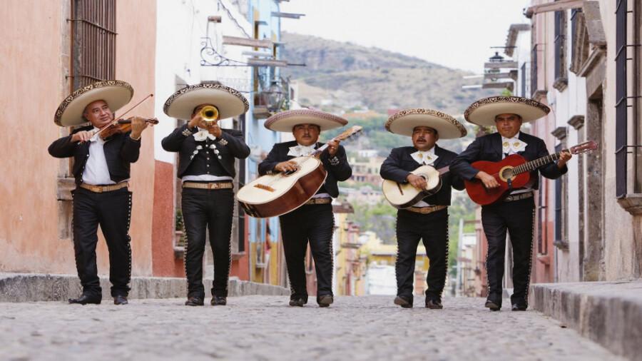 ماریاچی، شغلی که فقط در مکزیک یافت می شود!