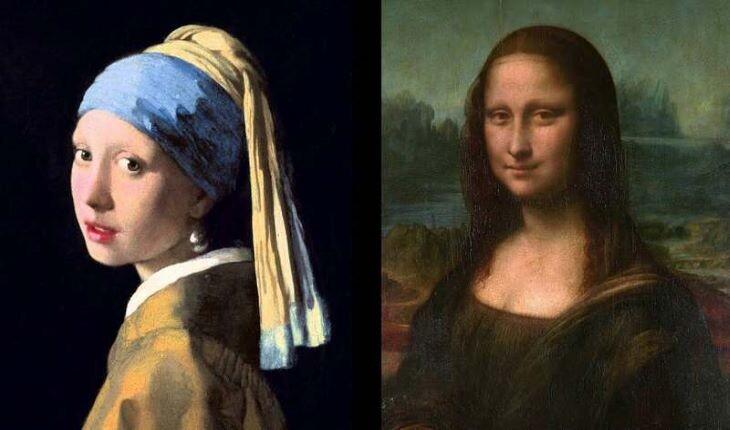 معروف ترین نقاشیهای جهان در یک نگاه