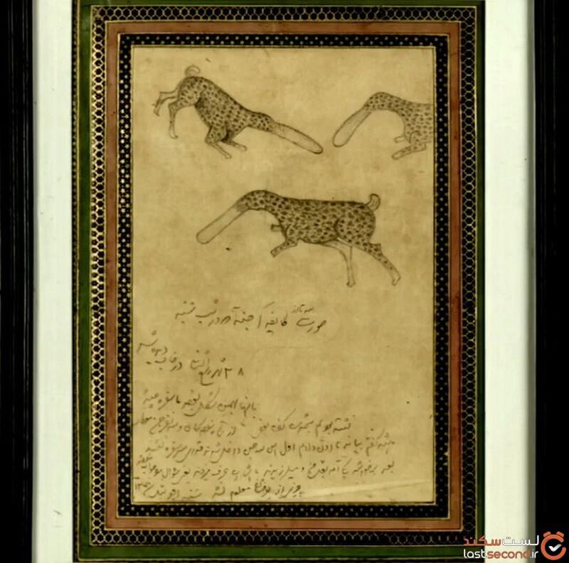 نقاشی ناصرالدین شاه