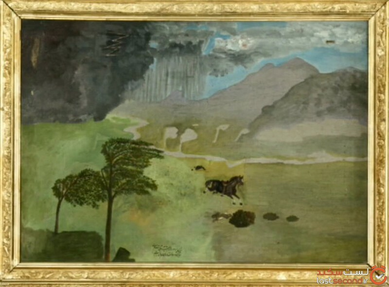 نقاشی ناصر الدین شاه