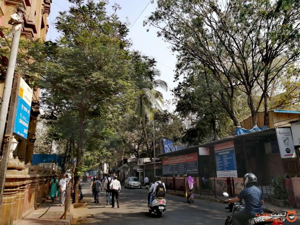 خیابان های بمبئی