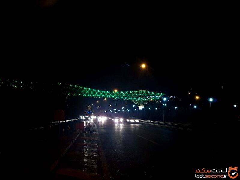 عکس پل طبیعت تهران