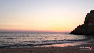 غروبی زیبا در سواحل هرمزگان