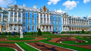 کاخ کاترین در سنت پترزبورگ