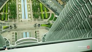 کوالالامپور را از روی پل آسمان ببینید