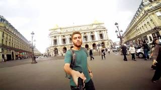 پسر ایرانی و سلفی با پاریس