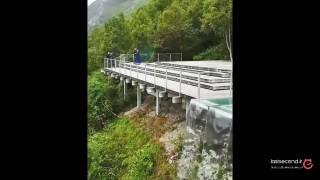 مینی آبشاری زیبا در نروژ