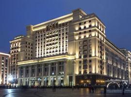 هتل فورسیزنز در قلب تاریخی مسکو