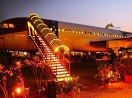 هواپیمایی که حالا یک رستوران لوکس است  
