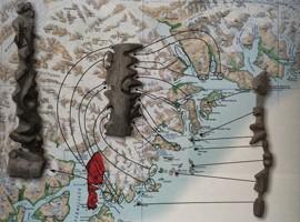 نقشه های لمسی اعجاب انگیز بومیان گرینلند
