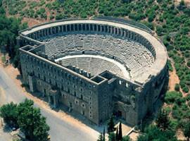 شهر باستانی آسپندوس در آنتالیا  + تصاویر