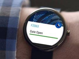 فرودگاه بین المللی دبی اپلیکیشن خود را روی ساعت های هوشمند آورد