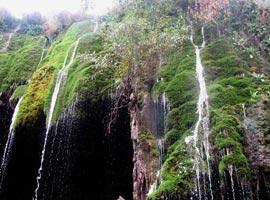 آسیاب خرابه، آبشار دیدنی جلفا