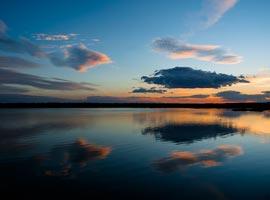 ترشاب، دریاچه ای بکر و زیبا در دل کویر