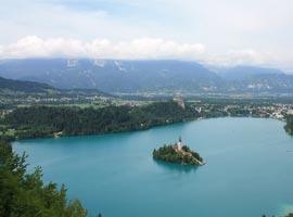 رومانتیک ترین مناطق دنیا : دریاچه بلد، اسلوونی