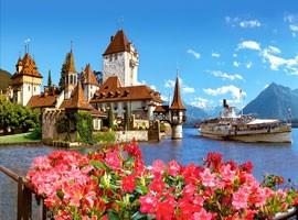 گشت و گذار در اروپا (سوئیس، میراماره، استکهلم) - سفرنامه