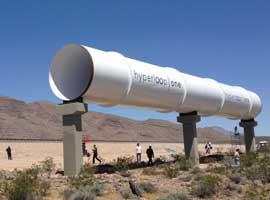 """""""هایپرلوپ"""" با سرعت 1200 K/H در جنوب خلیج فارس + تصاویر و ویدئو"""